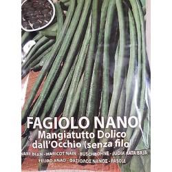FAGIOLO NANO DOLICO SEME NERO GR 250 (SEMI)
