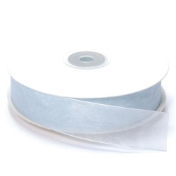 NASTRO ORGANZA MT.50 X 20MM WHITE