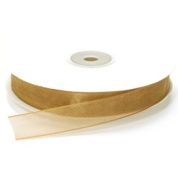 NASTRO ORGANZA MT.50 X 20MM GOLD