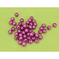 PEARLS 8MM PZ 144 BRIGHT LILAC (FUXIA)
