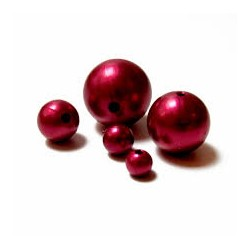 PEARLS 8MM PZ 144 DARK RED
