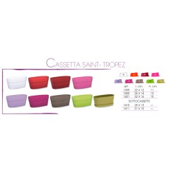 ***CASSETTA SAINT-TROPEZ  BIANCO CM.32X16