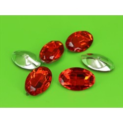 BUSTA 6PZ OVAL DIAMOND RED MM20X30