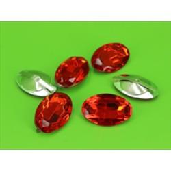 BUSTA 6PZ OVAL DIAMOND RED MM20X30
