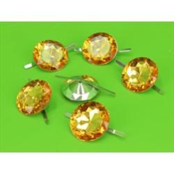 BUSTA 6PZ CIRCLE DIAMOND GOLD MM20X30