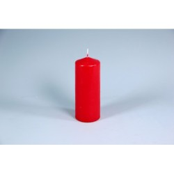 PILLAR CANDLE RED 150X60 MM PZ.4