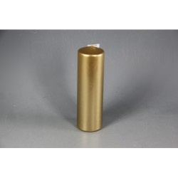 PILLAR CANDLE METALLIC 100X50MM GOLD PZ.12