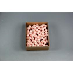 BOX 144 PICK SFERE VETRO MM.20 PINK
