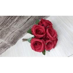 BUST ROSA NOELIA X7 RED