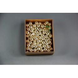 BOX 144 PICK SFERE VETRO MM.20 APRICOT