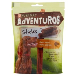 ADVENTUROS STICKS GUSTO BUFALO 6X120G