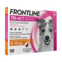FRONTLINE TRI-ACT 5-10KG 6 PIPETTE