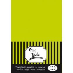 TOVAGLIA PVC CM.140X240 VERDE PISTACCHIO