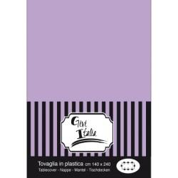 TOVAGLIA PVC CM.140X240 LILLA