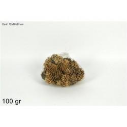 SACCHETTO PIGNE 100GR NATURALE