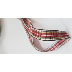 NASTRO TARTAN MM 12X20M TWHITE RED