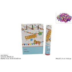 Cannone Party 30cm Interno