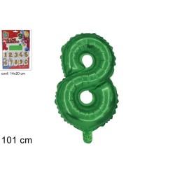 Mylar Verde Metal N.8 Cm.101