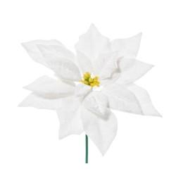 PICK POINSETTIA DELUXE WHITE CM.19