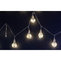CATENA 10 LAMPADINE 100 LED CONNETT.