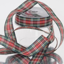 NASTRO TARTAN MM 25X20M GREEN RED