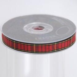 NASTRO TARTAN MM 25X20M BLACK RED