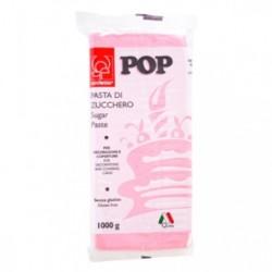 PASTA DI ZUCCHERO 1KG POP ROSA CONFETTO