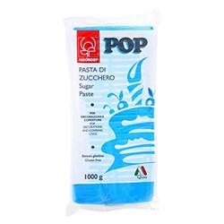 PASTA DI ZUCCHERO 1KG POP CIANO