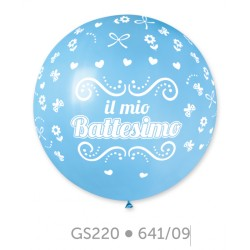 PALLON. 31 GEMAR IL MIO BATTESIMO CELESTE 1 PZ