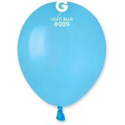 PALLONCINO 5 A50 LIGHT BLUE 09 GEMAR 100PZ