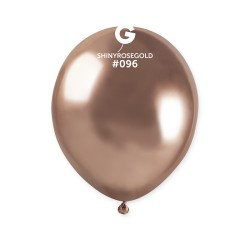 PALLONCINO 13 LATEX SHINY ROSE GOLD96 GEMAR 50PZ