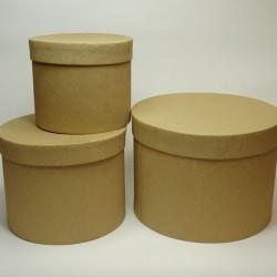 3 BOXES CMØ19XH14,5 CMØ17XH13 CMØ14,7XH11 NATURAL
